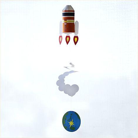 ペーパーモビールキット H-II A ロケット画像
