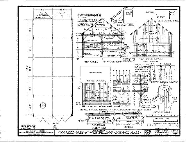 50 best images about barns and produce stands on pinterest for Tobacco barn house plans