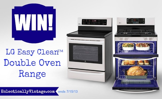 Win an LG EASY CLEAN OVEN  ~and ~ Low Fat Best Baked Ziti recipe