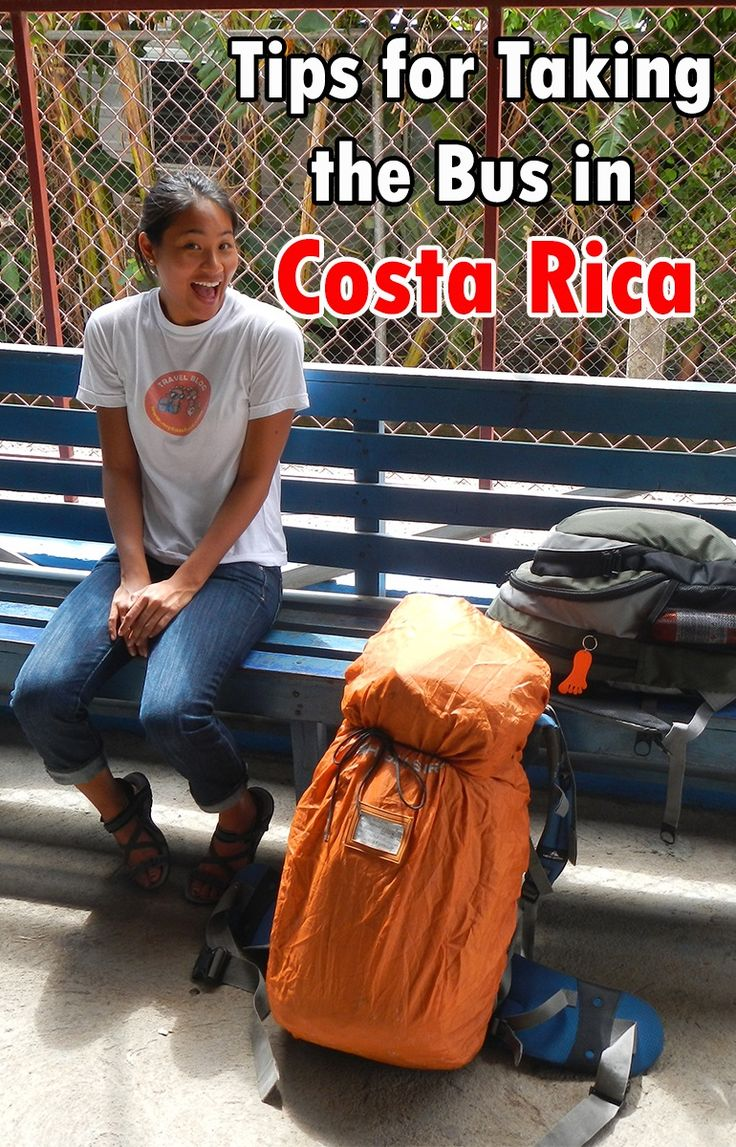 Tips on taking the public transportation in Costa Rica. It's a very cost efficient way to get around the country and here is all you need to know on taking the bus plus a handy app that makes it a lot easier