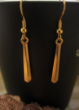 Kaufe meinen Artikel bei #Kleiderkreisel http://www.kleiderkreisel.de/accessoires/ohrringe/153904845-goldene-geometrische-ohrringe-nickelfrei