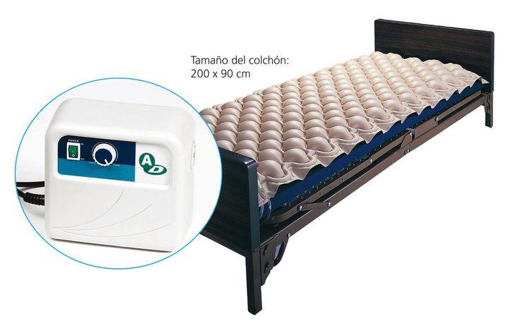 Colchón antiescaras+Compresor regulable  | Previene úlceras y escaras