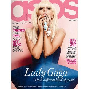 Lady Gaga ASOS Magazine April 2009