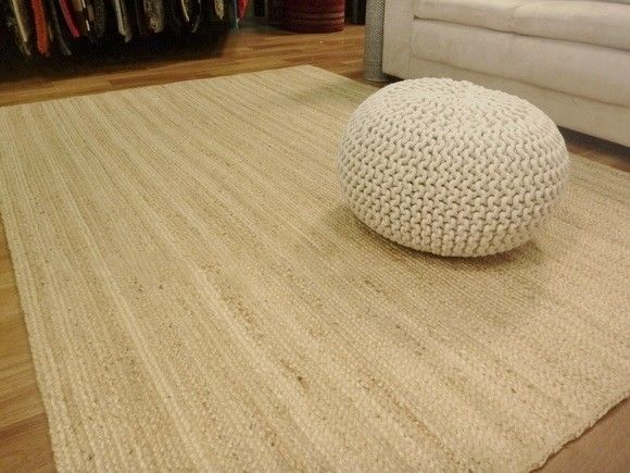 Seagrass Jute Woven Natural Floor Rug