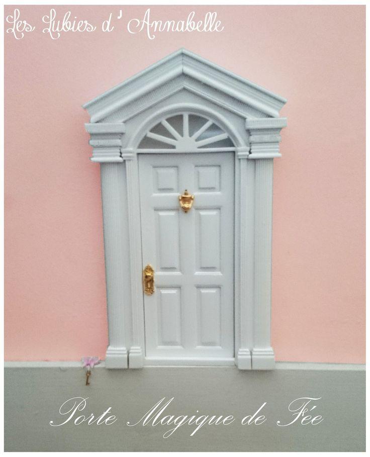 Porte Magique de Fée ou Lutin, Fée des Dents de lait ou petite Souris