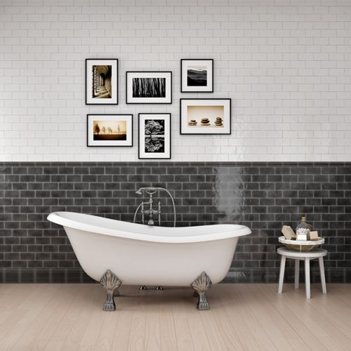 18 best Retro Metro Tiles images on Pinterest   Metro tiles, Room ...