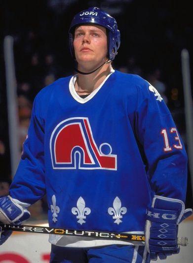Mats Sundin   Quebec Nordiques   NHL   Hockey