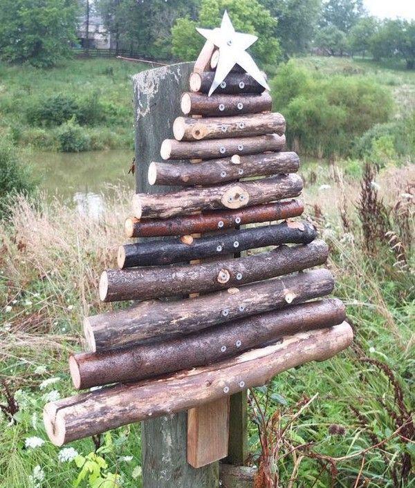 1000 id es sur le th me arbres no l country sur pinterest no l la campagne arbres de no l for Arbre de noel en bois truffaut