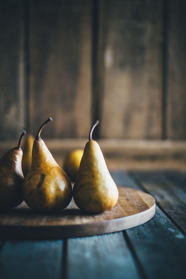 "delta-breezes: "" Poached Pears w/Espresso Caramel | Souvlaki For The Soul """