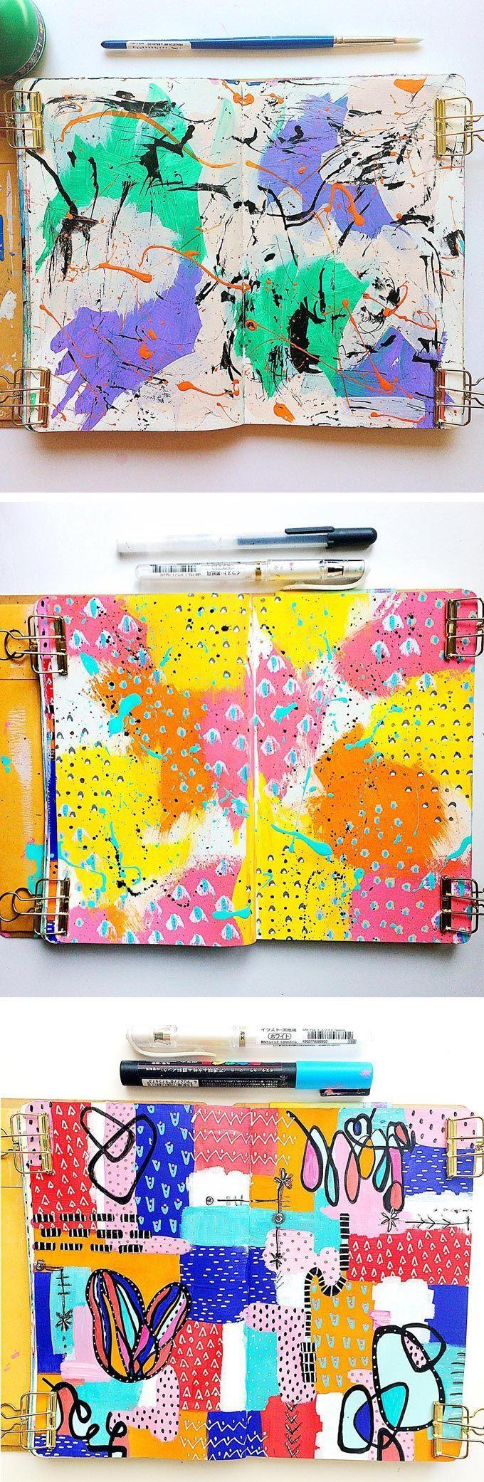 Samantha Russo sketchbook