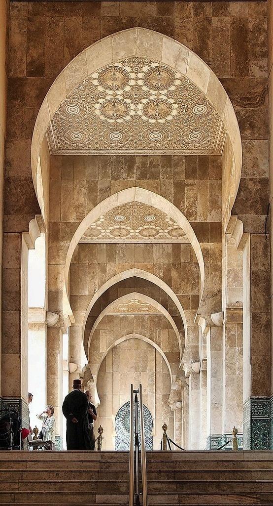 Mosque in Casablanca, Morocco | Wonderful Places