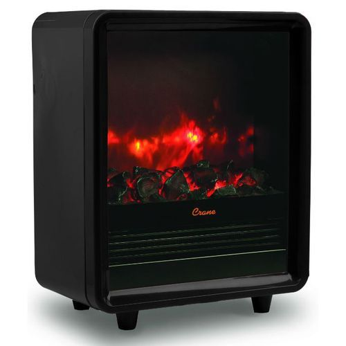 Crane Fireplace Space Heater - Black Primary Image