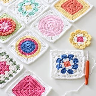 Random granny squares