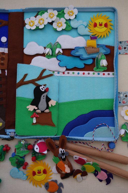 """Razvivashka """"Estaciones con Mole"""", edad 2+ - Babyblog.ru"""