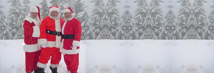 Hire a Santa - Santa school and hire for events