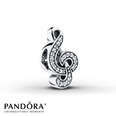 Pandora Charm Sweet Music Sterling Silver