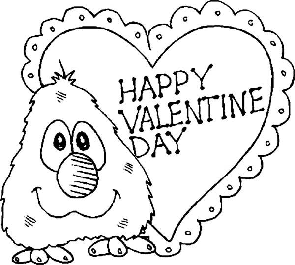 Inspirational Coloring Pages Of Valentines Day