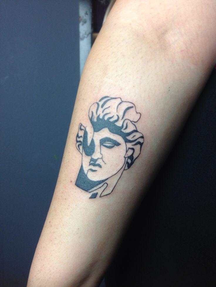 Made in The 9th Circle studio in Krakow, Poland. #sculpturetattoo #tattoo #ancient #roman #greek