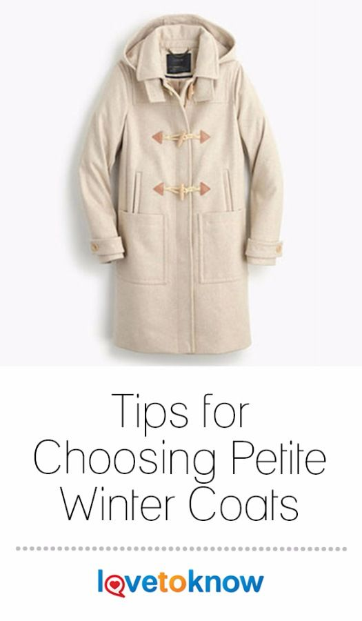 Most designers realize that the best petite winter coats are designed with the smaller woman in mind, rather than just being smaller versions of a regular coat. This means that shopping for a great garment doesn't have to take a lot of time if you know what to look for. #shopping #petite #fashion #womensfashion | Tips for Choosing Petite Winter Coats from #LoveToKnow