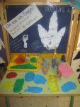 Proyecto desarrollado en el aula de 4 años, sin fichas. El objetivo era la creación de un museo dentro de la clase sobre los Dinosaurios.