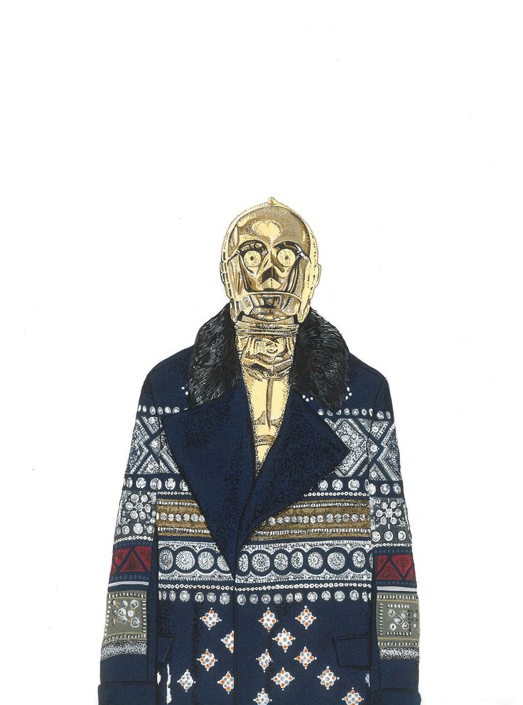 <p>For the upcoming Star Wars, British illustrator David Murray introduce his own view of the Star Wars characters dressed with the latest Fall 2015 collections. After his Fashion horror illustrations, it's now Hipster Star Wars ! davidmurrayillustration.tumblr.com</p>