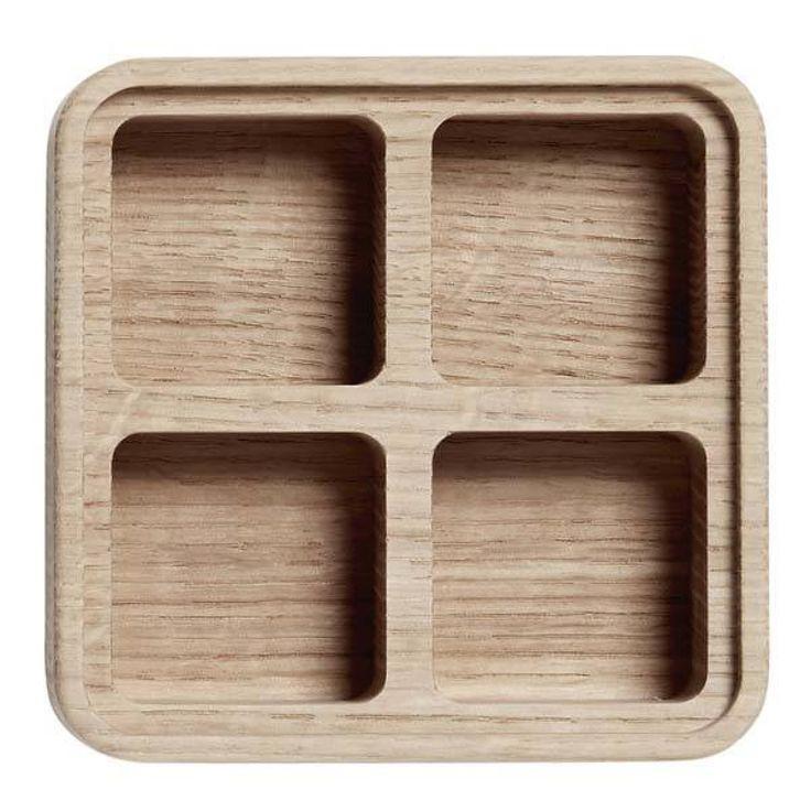 Andersen Create me box 12x12 cm. i egetræ