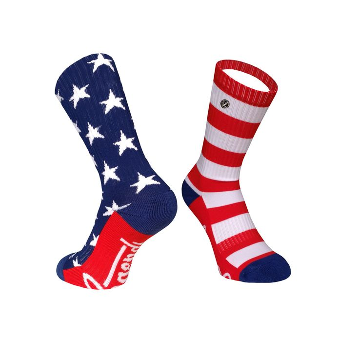 Legends Sock Company Lifestyle Knits Uncle Sams Crew Socks