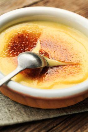 Une crème caramel fondante à l'intérieur et croquante à l'extérieur.