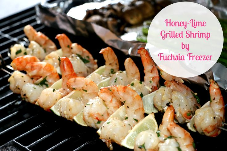 Honey-Lime Grilled Shrimp