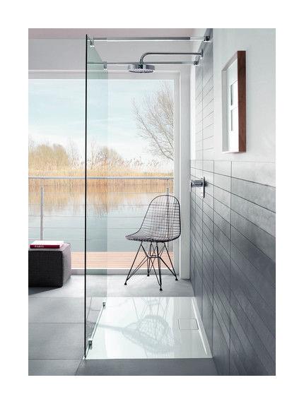 Villeroy et Boch - Receveur Architectura Metalrim - hauteur 48mm, 120 x 90 - UDA1290ARA248V-01 - Plomberie sanitaire chauffage