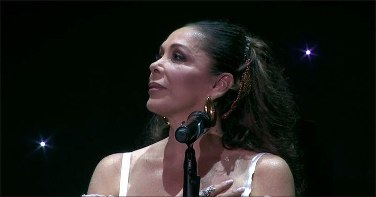 Isabel Pantoja vuelve a los escenarios
