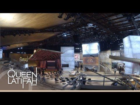 Queen Latifah Show Set Pinterest