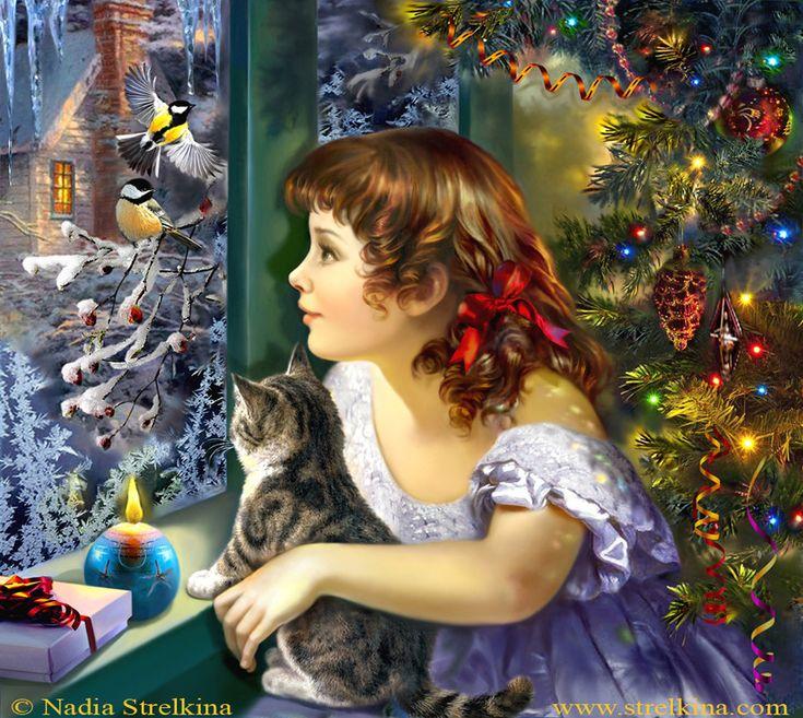 Открытки рождественское чудо, открытки комплиментами