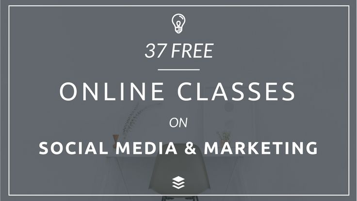 37 Free Marketing and Social Media Classes to Elevate Your Skills Today: https://blog.bufferapp.com/social-media-classes