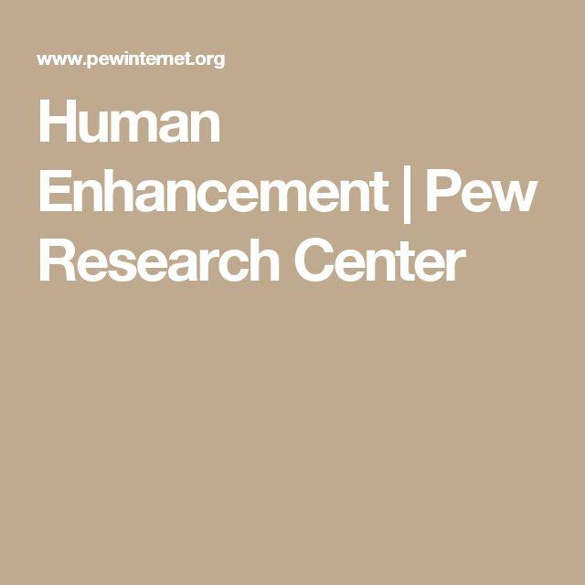 Human Enhancement | Pew Research Center