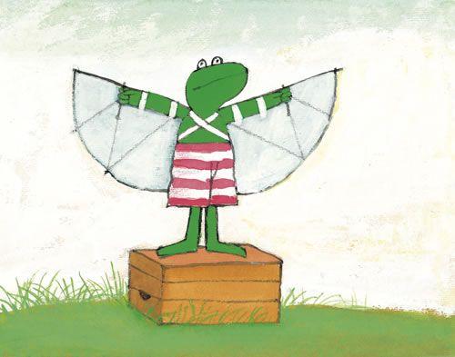 Kikker wil vliegen
