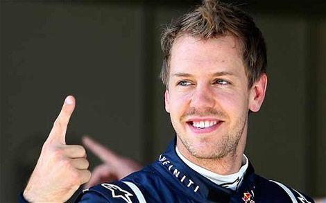 Vettel The Finger