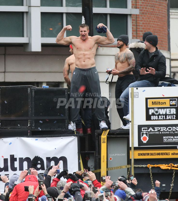 THE GRONK---Check out the best photos from the Patriots Super Bowl LI victory parade in Boston on Tuesday, February 7, 2017.