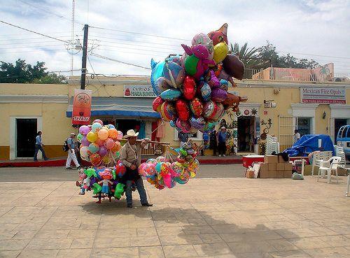 Balloon Seller Mexico