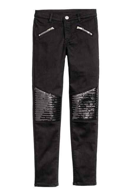 Pantalon à paillettes