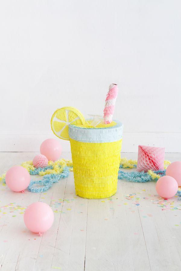 Manualidades con Niños: Piñata Casera de Limonada