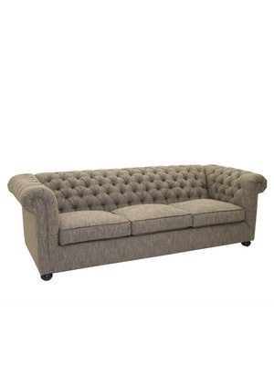 Irish Brown Tweed Sofa by Old Hickory Tannery on Gilt Home