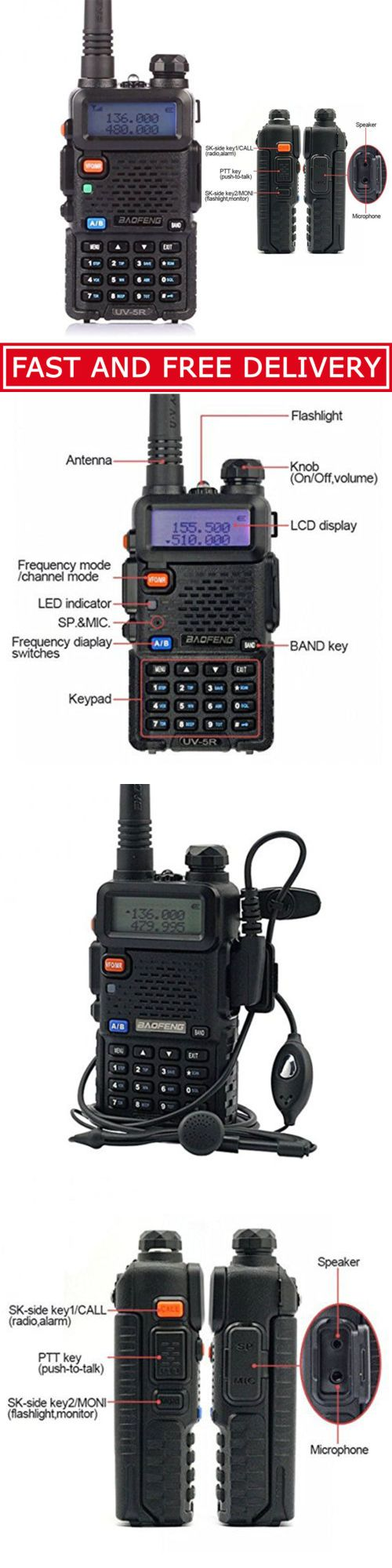 Scanners: Police Radio Scanner Portable Handheld Two Way Digital Pro Mobile Transceiver -> BUY IT NOW ONLY: $32.98 on eBay!