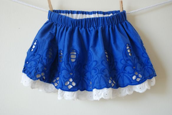 Double Layer Skirt wonderful tut by youandmie