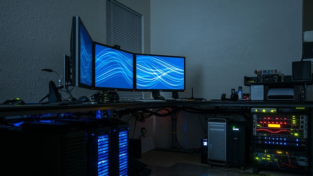 The Glowing Gadget Workspace
