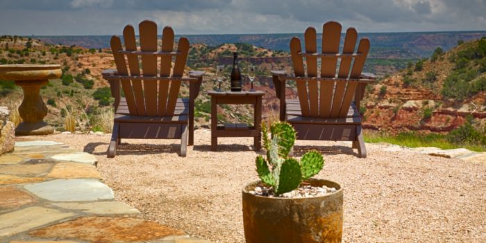 8. Fortress Cabin (Palo Duro Canyon)