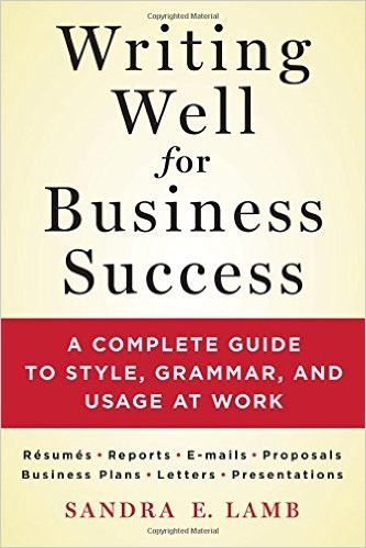 business writing grammar tips for writing