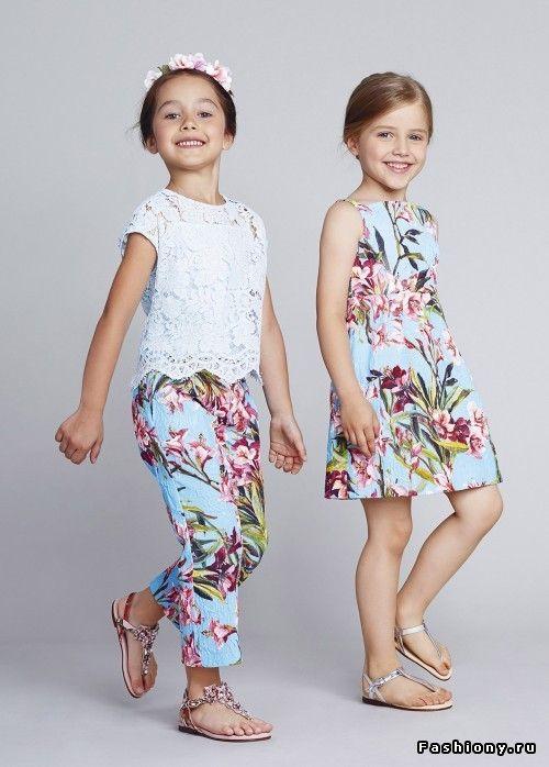 Dolce & Gabbana Bambino Весна-Лето 2014