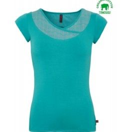 Tranquillo T-shirt Magda Turquoise top shirt sold by lillefant groen blauw turkooise