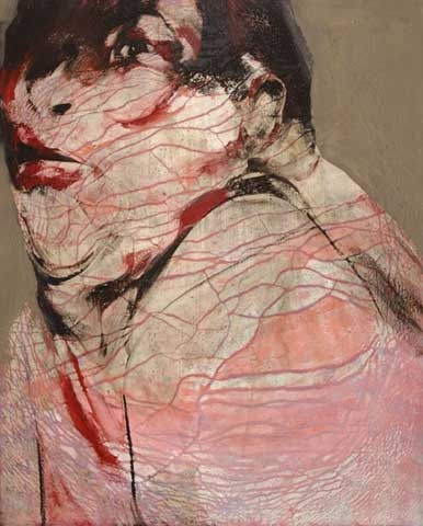 Jenny Saville and her beautiful colour palette wins me over again